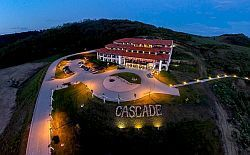 Hotel Cascade Demjen with spa and wellness facilities at dicount prices including half board